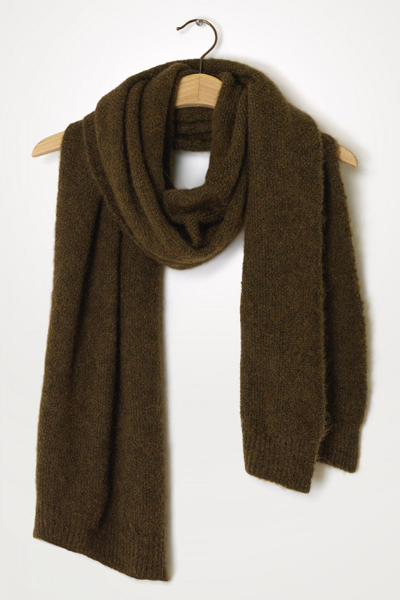 East Scarf  Olive