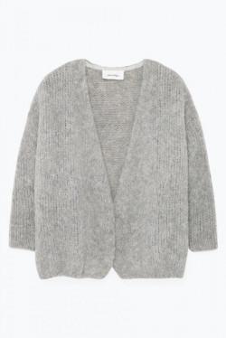 Boolder  cardigan Grey