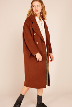 Dado Coat Orange