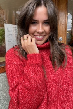 Dolsea Pullover Red