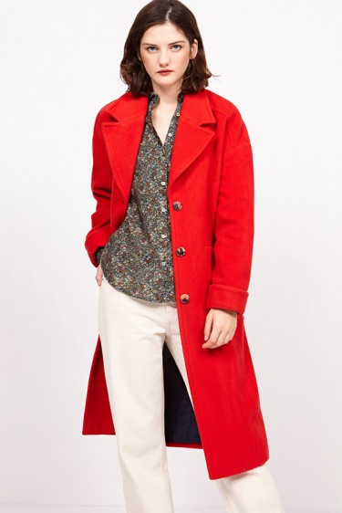 Louping Coat Red