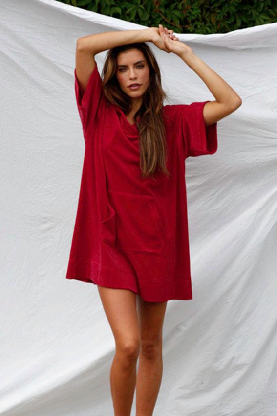 Malibu dress Hot Pink