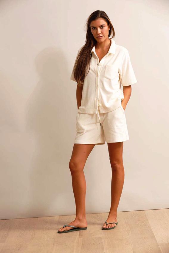 Newport Shorts Ivory
