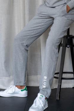 Blue Base Pant Grey