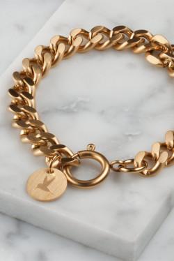 Chunky chain armbånd
