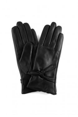 Gloves with tie