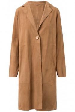 Long Suede Jacket