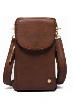 Mobilbag Cow Leather Brown