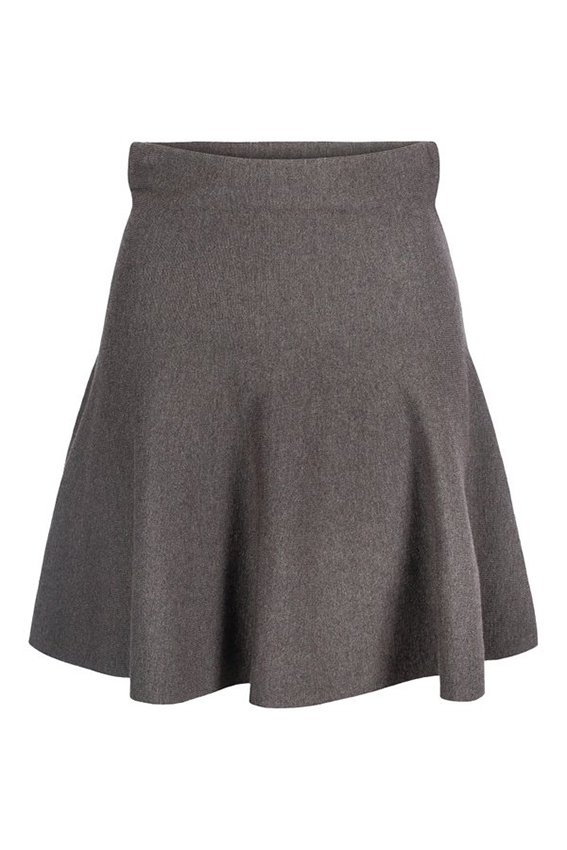Triny merino skirt brown