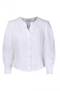 Ane linen shirt White