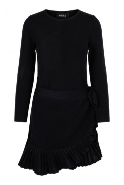 Christina merino dress black