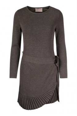 Christina merino dress brown