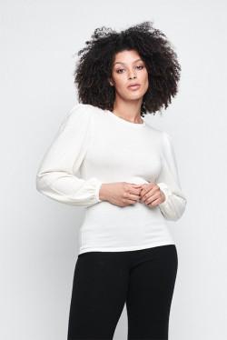 Frida  merino sweater White