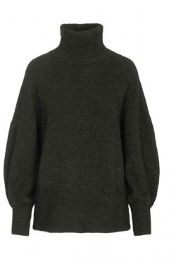 Luni alpaca sweater Green