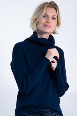 Turtleneck Dark Blue