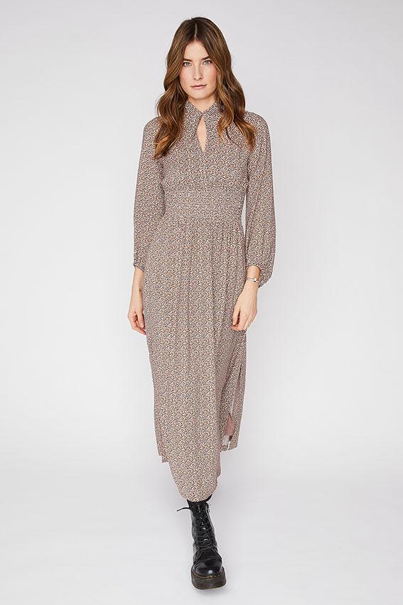 Lewis print dress