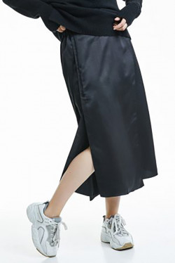 Phebe satin skirt