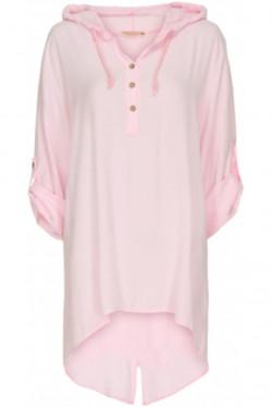 Stell Shirt Bubble Rose