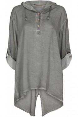 Stell Shirt Cold Wash Grigio