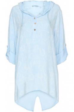 Stell Shirt Celeste Blue