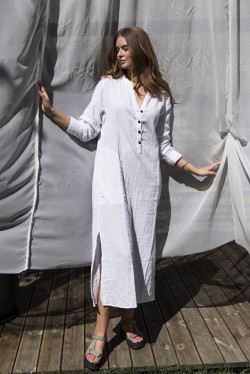 Hanne Maxi Dress Powder
