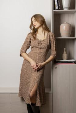 Isobell Dress Cinnamon