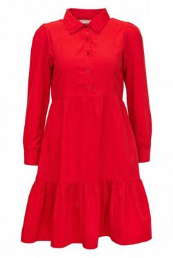 Peyton Dress Winter Red