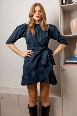 Poppy Dress Cobalt