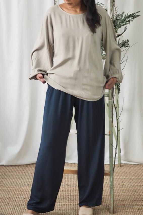 Donna Pants Blueberry