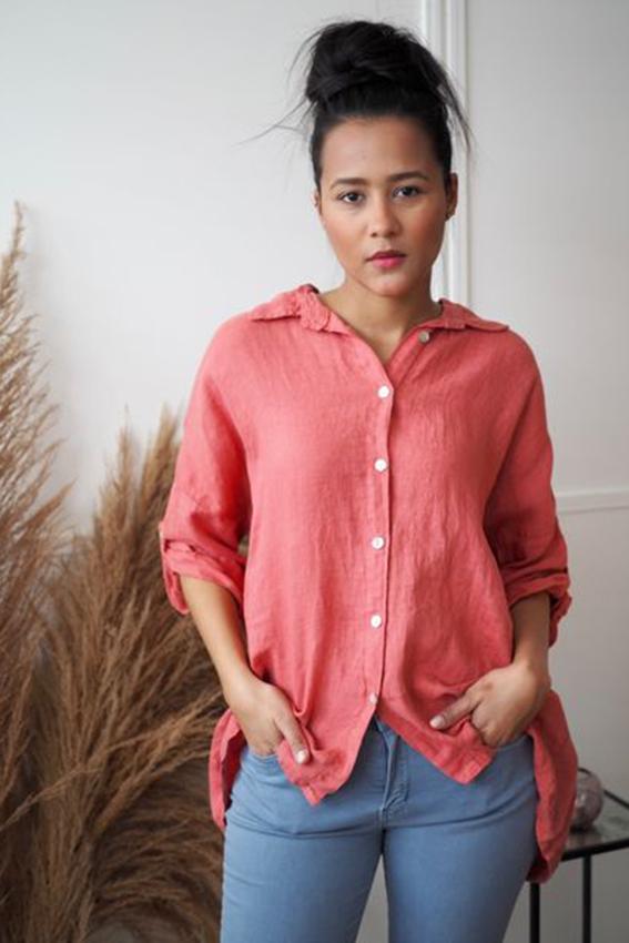 Julie Shirt Coral