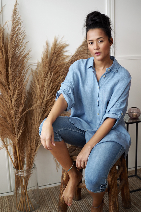 Julie Shirt Denim Blue