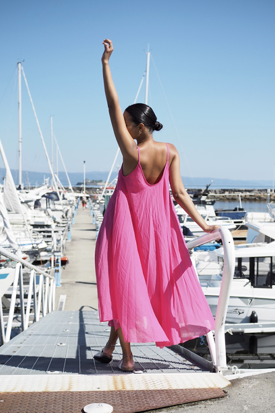 Manuela Dress Fuchsia