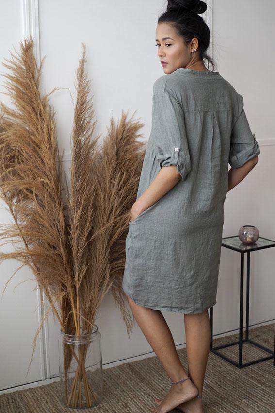 Nora Dress Olive