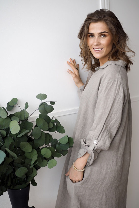 Thale Dress Taupe