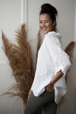 Julie Shirt White