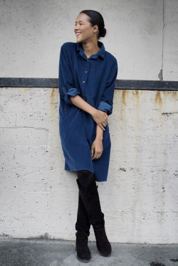 Matilde Cord Midnight Blue