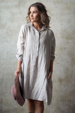 Matilde Dress Beige