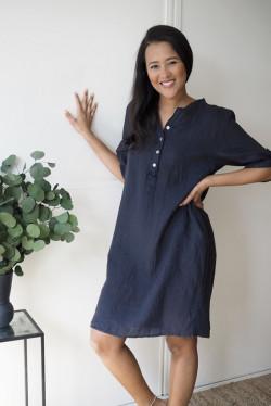 Nora Dress Navy