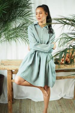 Poppy Dress Sage