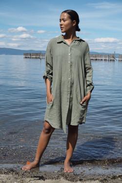 Thale Dress Olive
