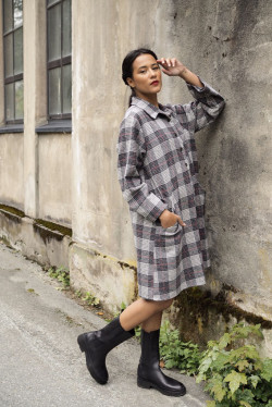 Winter Matilde Butter Plaid