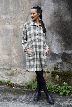 Winter Matilde Moss Plaid