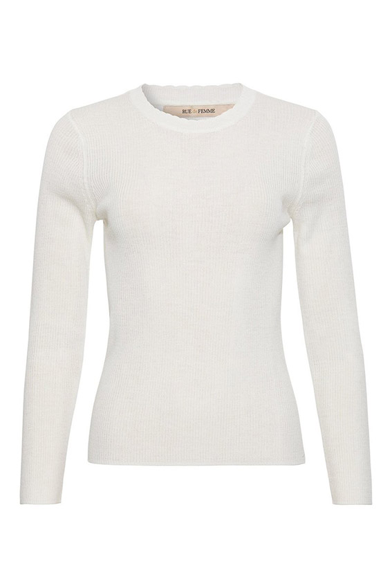Quincy knit White