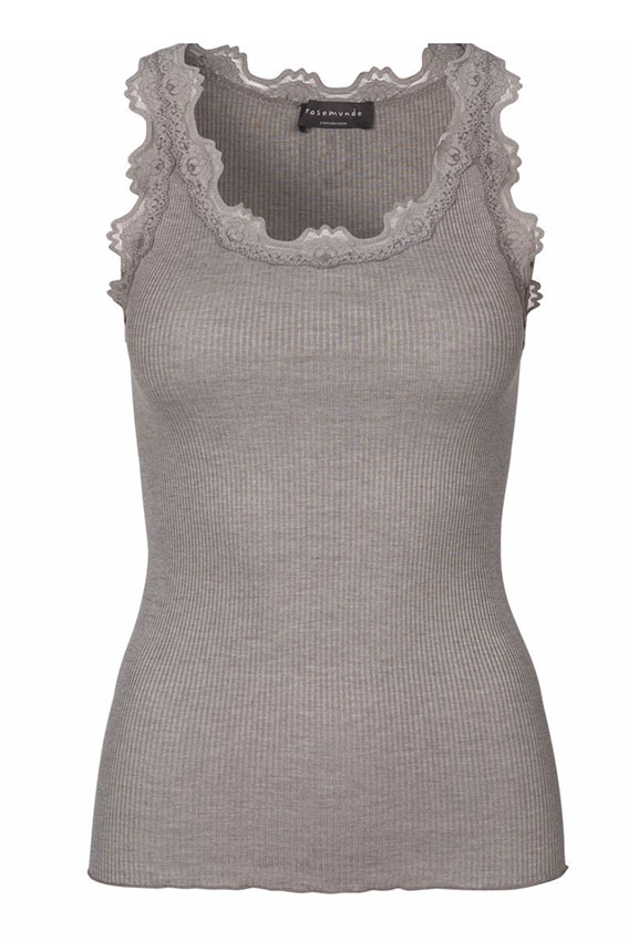 Silk Top Lace Brown