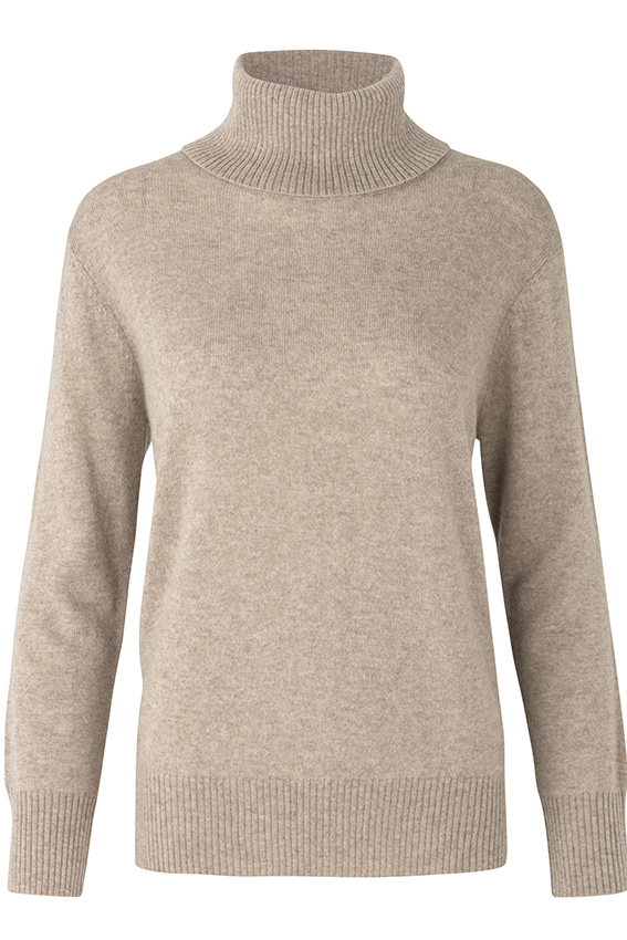 Wool & cashmere T-neck Atmosphere