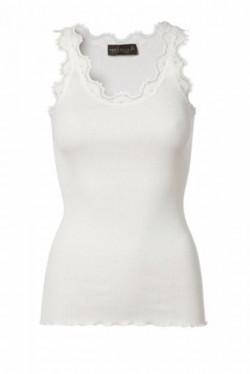 Silk Top Lace White