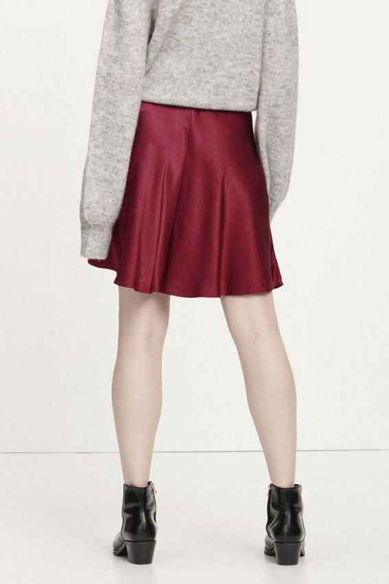 Alsop skirt Bordeaux