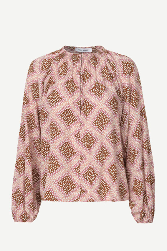 Kaia blouse aop