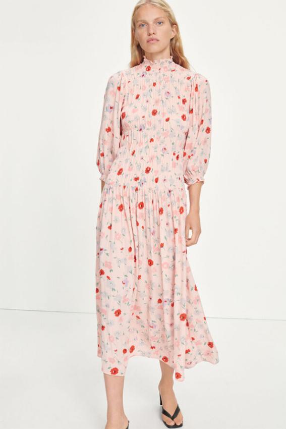 Sarami dress Pink Garden