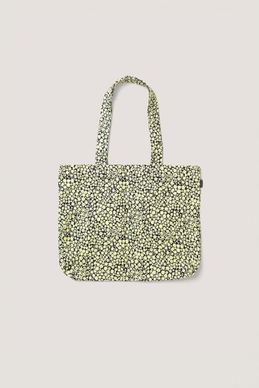Canvas shopper gul